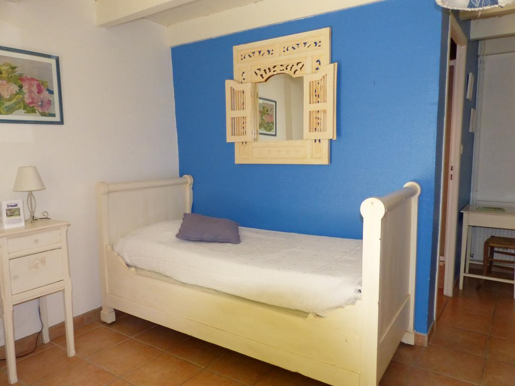 La chambre bleue le paradis du marais for Temperature ideale chambre